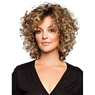 Capless High Quality Blonde Full-Volume Curls Heat-resistant Fiber Synthetic hair Wig
