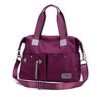 女性 バッグ 秋 ナイロン ショルダーバッグ トート 小型かばん のために ショッピング カジュアル スポーツ ブラック パープル ブルー