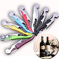 çok fonksiyonlu metal tirbuşon şarap bira şişe kapağı açacağı hipokampus bıçak (rastgele renk)