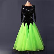 ballroom dance kjoler kvinders præstationsdrabte kjole ved skal vi