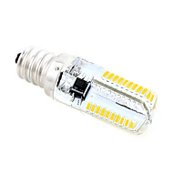 billige Kornpærer med LED-5 W 400-450 lm E12 LED-kornpærer T 80 LED perler SMD 3014 Varm hvit / Kjølig hvit 220-240 V / 1 stk.