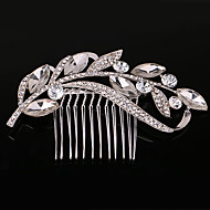 Pearl / Crystal / Rhinestone Hair Combs with 1 Wedding / Special Occasion / Casual Headpiece