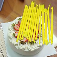 Bageværktøj Plast Kage / til sandwich Dekorationsværktøj 1set
