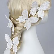tecido cabelo pino cabeça casamento festa estilo feminino elegante