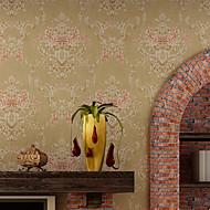 halpa -tapetti Floral Tapetti Nykyaikainen Seinäpinnat,Non-woven Paper