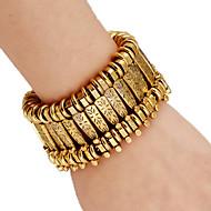 voordelige Vintage Armbanden-Schattig 1pc Armbanden met ketting en sluiting - Vintage Feest Werk Goud Zilver Armbanden Voor Feest