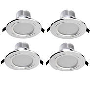 LED Recessed Lights 6 leds SMD 5730 Decorative Warm White Cold White 300lm 3000/6000K AC 85-265V