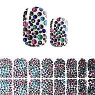 preiswerte -Nagel-Kunst-Aufkleber Make-up kosmetische Nagelkunst Design