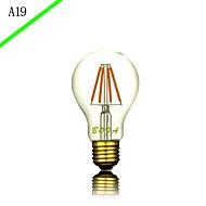 billige Glødelampe-1pc 3 E27 E26/E27 E26 B22 A60(A19) Varm hvit Kjølig hvit Naturlig hvit 2300 K LED-glødepærer AC85-265 AC 220V AC 85-265V V