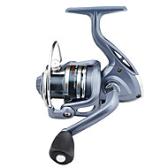 cheap Fishing-Fishing Reel Spinning Reels 5.5:1 Gear Ratio+6 Ball Bearings Exchangable Left-handed Right-handed Sea Fishing Bait Casting Ice Fishing