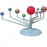 צעצוע חינוכי צעצועי מדע וגילויים צעצוע ודגם אסטרונומיה תשע כוכבי לכת צעצועים מערכת השמש חתיכות מתנות