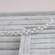 cheap Wedding Headpieces-Pearl Headbands 1 Wedding Special Occasion Casual Office & Career Outdoor Headpiece