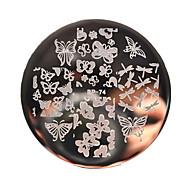 vários borboleta prego imagem do molde de estampagem de chapa arte nascido bp74 bonitas