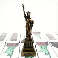 """15 ס""""מ סמל ניו יורק המפורסם הפסל של צלמיות חירות להבין מתנות תפאורה המדף"""