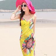 tanie Ręcznik plażowy-Letnia moda styl szyfon szalik szaliki damskie ręczniki plażowe szyfonowe szale losowy kolor