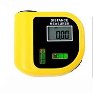 elektronický laserový dálkoměr Tester s digitálním LCD displej (rozsah: 2 ~ 60 stop, + / - 5%)