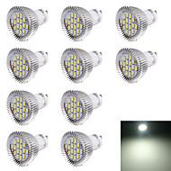 gu10 led spotlight r63 16 smd 5630 560lm kald hvit 6000k dekorativ ac 220-240v