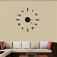 billige Veggklokker-Rund / Rektangulær / Kvadrat / Nyhet / Kuppel / Timeglass / Lanterne / Tambur / Andre / OvalModerne / Nutidig / Tradisjonell / Land /