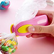 portáteis mini-sacos de lanches de plástico Selagem máquina de viagens tipo pressão de mão