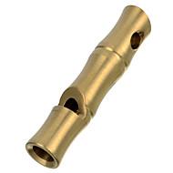 フラ屋外生存高デシベルlevalステンレス鋼の笛 - 黄金/マルチカラー(ショートサイズ)