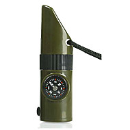 cheap Safety & Survival-7 in 1 Compass with Survival Whistle