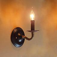 billige Vegglamper-Rustikk / Hytte Vegglamper Metall Vegglampe 110-120V / 220-240V