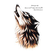 Body Art Beauty Makeup Cool Wolf Wolfing Waterproof Temporary Tattoo Stickers Sexy