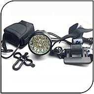 billige Sykkellykter og reflekser-Frontlys til sykkel LED XM-L2 T6 Sykling Vanntett, Nedslags Resistent, Oppladbar 18650 12000 lm Batteri Camping / Vandring / Grotte Udforskning / Sykling / Reise - XIE SHENG®