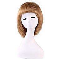 Pretty Charming Short Bob Remy Human Hair Hand Tied -Top Capless Woman Wigs