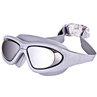 billiga Swim Goggles-Simglasögon Anti-Dimma Stöttålig Vattentät Teknisk plast PC Grå Svart Blå N/A