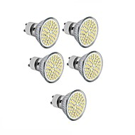 abordables Ampoules LED-5pcs 3.5 W 300-350 lm GU10 / GU5.3(MR16) / E26 / E27 Spot LED MR16 60 Perles LED SMD 2835 Décorative Blanc Chaud / Blanc Froid 220-240 V