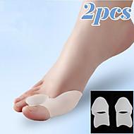 Ganzkörper / Fuß Unterstützungen Zehenspreitzer & Bunion Pad Knet-Shiatsu Haltungshelfer Verstellbare Dynamik Silikon