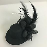 voordelige Bloemenmeisje-Tule Veer fascinators 1 Bruiloft Speciale gelegenheden  Helm