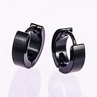 Herre Stangøreringe Store øreringe Rose Gold Sølv Smykker Bryllup Fest Daglig Afslappet Kostume smykker