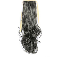 Wig Gray 50CM Synthetic High Temperature Wire Curly horsetail Color 2/613