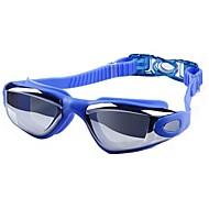 billiga Swim Goggles-Simglasögon Anti-Dimma Stöttålig Vattentät Teknisk plast PC Rosa Svart Blå Silver N/A