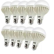 billige Globepærer med LED-YouOKLight 10pcs 3W 150-200lm E26 / E27 LED-globepærer C35 12 LED perler SMD 5630 Dekorativ Varm hvit 220-240V