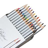 צביעה עֵט עפרונות צבעוניים עֵט,פלסטיק חָבִית צבעי דיו For ציוד בית ספר ציוד משרדי חבילה של