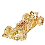 GDS-sæt 3D-puslespil Puslespil Metalpuslespil Legetøjsbiler Racerbil Legetøj Bil 3D GDS Stk.