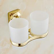 preiswerte Zahnbürstenhalter-Zahnbürstenhalter Badezimmer Gadget / Ti-PVD Neoklassizistisch