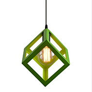 cheap Pendant Lights-Rustic/Lodge Vintage Country Traditional/Classic Mini Style Pendant Light Ambient Light For Living Room Bedroom Kitchen Dining Room Study