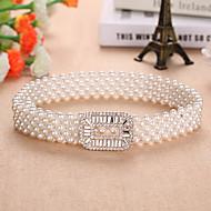 Margele / Elastic Nuntă / Party / Seara Cercevea Cu Imitație de Perle Pentru femei Panglici