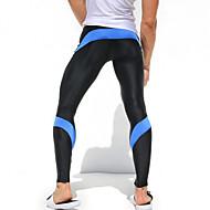 ieftine -Bărbați Στενό παντελόνι για τρέξιμο Leggings de Sală Uscare rapidă Permeabilitate Aer Înaltă (>15,001g) Respirabil Compresie Material Ușor