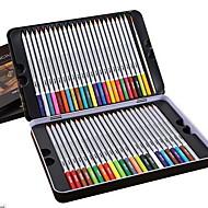 リード塗装着色に48色の水溶性の鉄の箱