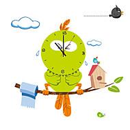 円形 / ノベルティ柄 コンテンポラリー / 伝統風 / カジュアル / オフィス 壁時計,動物 / 家族 / 漫画 その他 90*30*0.1Cm