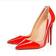 baratos Sapatos Femininos-Mulheres Sapatos Couro Envernizado Primavera / Verão Salto Agulha Rosa claro / Amêndoa / Coral / Casamento / Festas & Noite