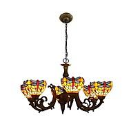 billige Takbelysning og vifter-Lysekroner Omgivelseslys - LED designere, Tiffany, 110-120V 220-240V, Gul, Pære ikke Inkludert