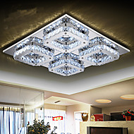cheap Ceiling Lights-Modern Minimalist Living Room Lamp Square Crystal Lamp LED Ceiling Lamp Bedroom Dining Room Lighting 8803
