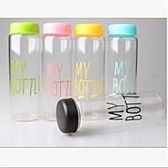 Mijn fles plastic kop draagbare waterfles (willekeurige kleur)