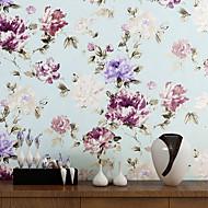 halpa -Floral Taustakuva Kotiin Nykyaikainen Seinäpinnat , Non-woven Paper materiaali liima tarvitaan tapetti , huoneen Tapetit